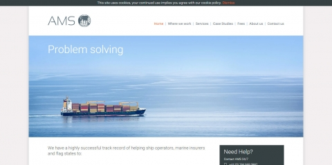 Astbury Marine Services website launches