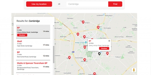 Gas Stations Near Me feature goes live for OilPrice.com
