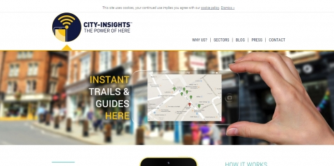 New City Insights marketing site goes live