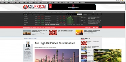 Video ad platform goes live for OilPrice.com