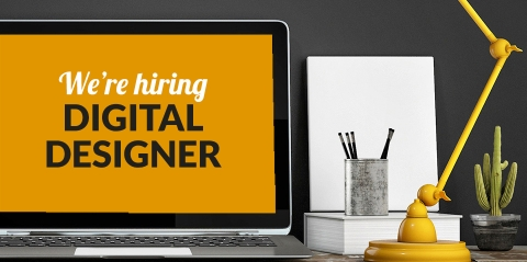 Digital Designer job vacancy nr. Bristol and Weston-Super-Mare