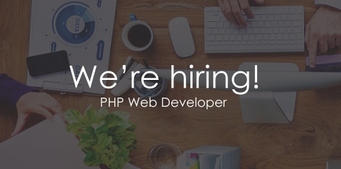 We're hiring - PHP / full stack web developer required