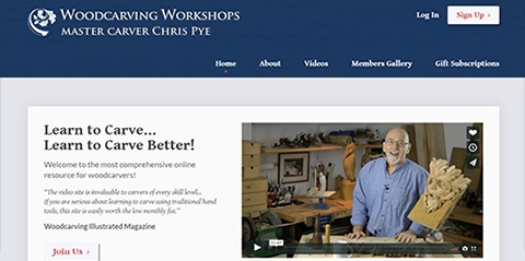 A fresh look for Woodcarving Workshops