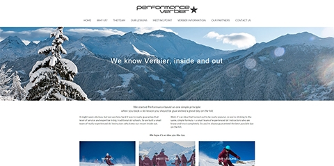 Life in the fast lane - a new website for Performance Verbier