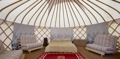 Win a 3 night holiday in a Yurt!