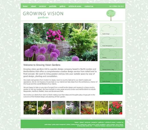 Growing Vision Gardens Screenshot