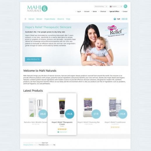 Mahi Naturals Screenshot