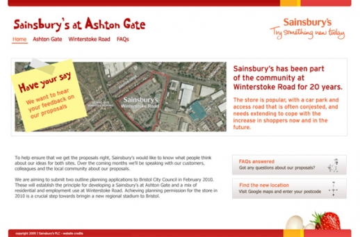 Sainsbury's at Ashton Gate - for JBP Screenshot