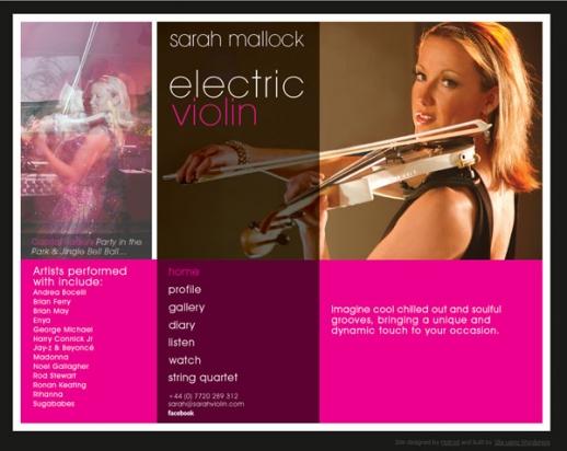 Sarah Violin Screenshot